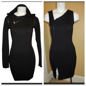 Rachel Roy convertible black dress